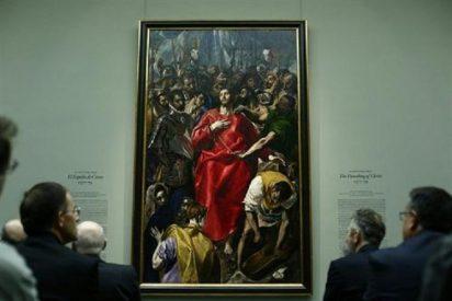 'El expolio de Cristo', de El Greco, brillará unos días con luz propia en el Museo del Prado