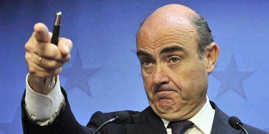 """Luis de Guindos: """"Leemos los informes del FMI pero tenemos nuestra propia ruta"""""""
