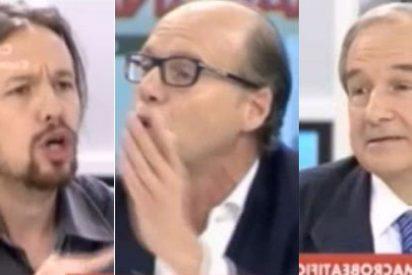"""Pablo Iglesias contra González y Apezarena: """"Es de caraduras decir que a los curas vascos los mataron por su ideología"""""""