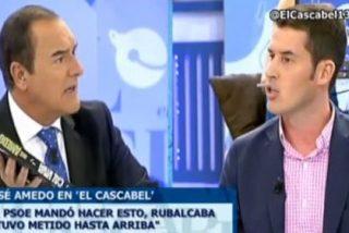 """El socialista Juan Segovia se indigna por la entrevista a Amedo y Jiménez replica: """"Es historia de España, negra, e impulsada por tu partido"""""""