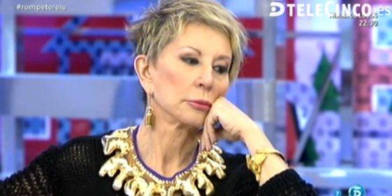 """Karmele Marchante, 'obligada' a irse del plató entre lágrimas por un nuevo y gratuito ataque de J.J. Vázquez: """" ¿Has estudiado periodismo de verdad?"""""""