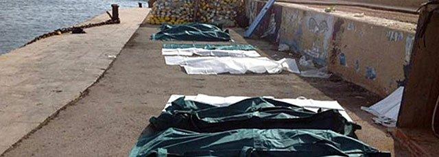 Aumentan a 231 los cadáveres recuperados tras el naufragio de Lampedusa
