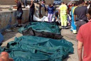 """Supervivientes del naufragio en Lampedusa: """"Encendimos fuego para llamar la atención"""""""