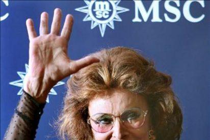 La justicia italiana da por fin la razón a Sofia Loren frente al fisco...40 años después