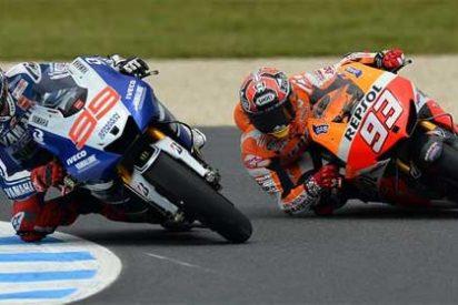 Márquez, descalificado en Australia y Lorenzo y Pedrosa vuelven a optar al título a falta de dos carreras