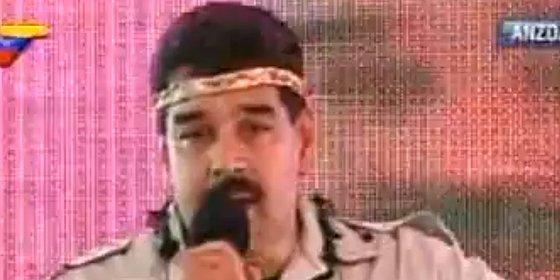 """Nicolás Maduro está """"indignado y ofendido"""" por la celebración en España del """"holocausto indígena"""""""