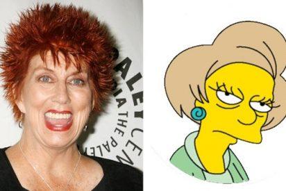 El famoso y querido personaje de 'Los Simpson' Edna Krabappel se queda sin voz