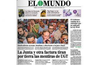 """Los sindicalistas se 'inspiran' en Almudena Grandes para cargar contra Alaya: """"Pepera, métete en la lechera"""""""