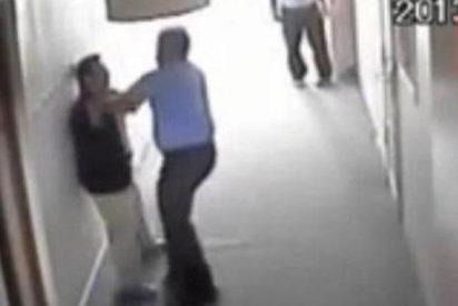 La filmación del profesor que maltrata a un estudiante con síndrome de Down