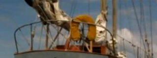 Las imágenes de un barco fantasma detectado por satélite en el Océano Pacífico