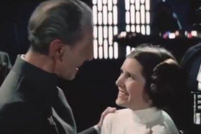 Un curioso vídeo muestra las tomas falsas del rodaje de la película 'Star Wars'