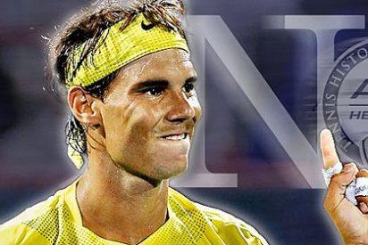 Y, dos años y cuatro meses después, Nadal vuelve a ser el número 1 del tenis mundial