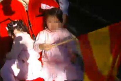 Maquillaje españolista en el canal infantil de TV3: ofrece un minuto de la manifestación del 12-0