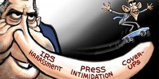 Obama veja a los periodistas todavía más de lo que lo hacía Nixon
