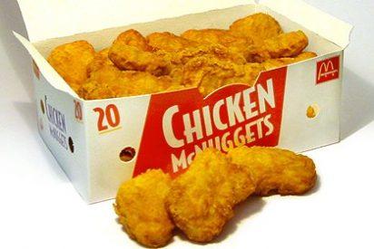 ¿Sabías que la mitad de lo que hay en los 'nuggets de pollo' no es pollo?