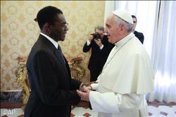 Francisco recibió a Obiang