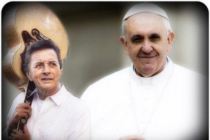 Escuche la canción de Palito Ortega al Papa