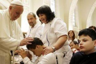 Bergoglio fue Francisco en Asís