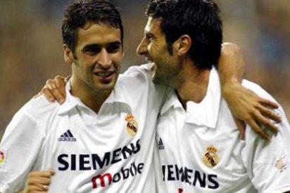 """Florentino Pérez, a Raúl González, en el año 2000: """"Figo se quiere marchar, te necesitamos para que no se vaya"""""""