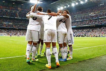 El Real Madrid se lame las heridas con una goleada al débil Copenhague
