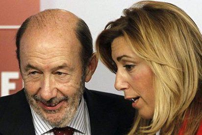 La andaluza Susana Díaz Andalucía amenazó a Rubalcaba con retirarle su apoyo si votaba contra la Constitución