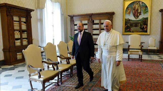 El Papa, invitado a dirigirse a la Eurocámara