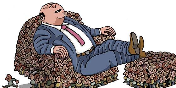 La gran paradoja: crecen a troche y moche los millonarios en España