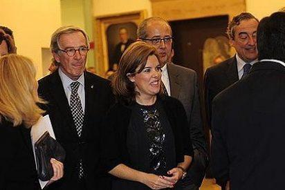 Un cabreado Artur Mas deja plantada a la vicepresidenta por discrepancias de protocolo