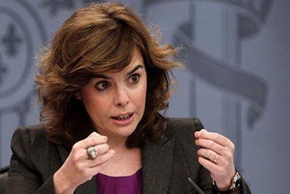 """Soraya hace un educado 'mea culpa' y asegura que """"no ha ofendido a los parados"""""""