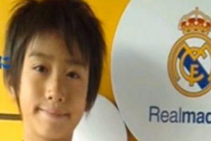 El Real Madrid ficha a Takuhiro Nakai, 9 años, japonés y de la cantera del Barça