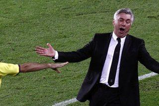 """Carlo Ancelotti: """"Todo el mundo vio el penalti a Cristiano menos el árbitro"""""""