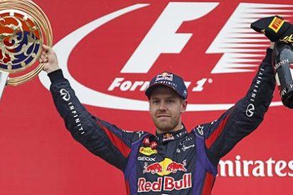 Sebastian Vettel no tiene rival este año y ya acaricia su cuarto título Mundial