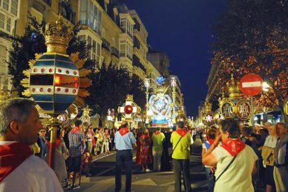La cofradía de la Virgen Blanca de Vitoria celebra su 400 aniversario