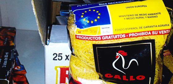 La hermandad del Rocío devuelve a Cáritas los alimentos sustraídos