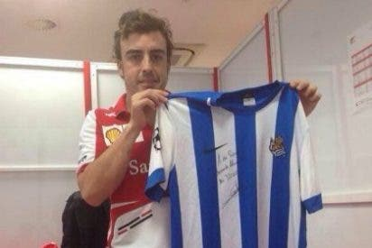 Presume de haber vestido a Alonso con los colores de su equipo