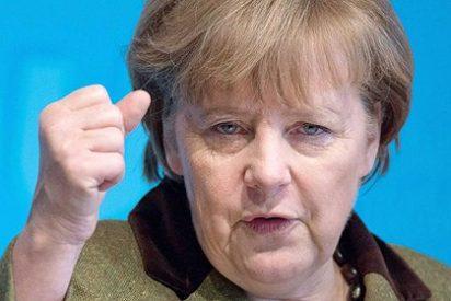 """Merkel nos pone firmes y nos da una palmadita: """"España volverá a sostenerse sobre su propio pie"""""""
