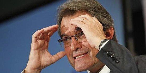 El mundo mundial da la espalda al president catalán Artur Mas