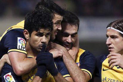 El Atlético de Madrid vuelve a ganar con oficio en el área y gol de de Diego Costa