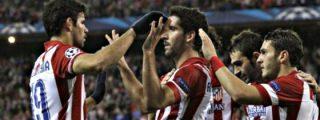 El Atlético se da un atracón de goles
