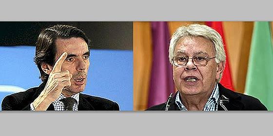 Aznar y Felipe: los jarrones locuaces