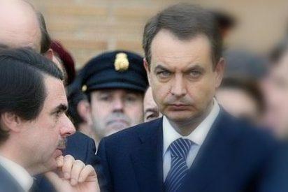 """La 'orden' de Aznar tras saludar a Zapatero: """"¡No publiquéis esta foto!"""""""
