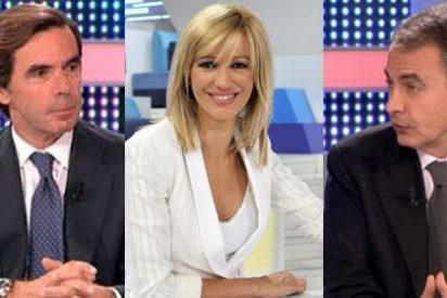 De elogiar la 'tableta de chocolate' de Aznar a pedirle cuentas por la crisis a ZP