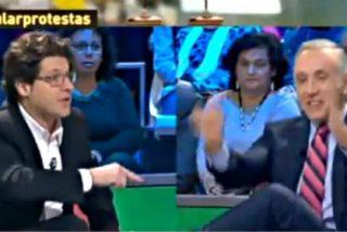 Fernando Berlín interrumpe cabreado 'La Sexta Noche' al sentirse insultado por Eduardo Inda y Francisco Marhuenda