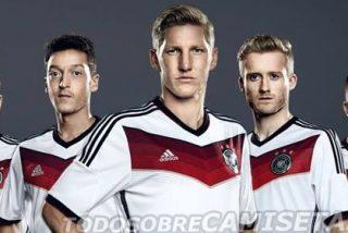 La camiseta de Alemania para el Mundial