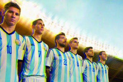 Así es la camiseta de Argentina del Mundial