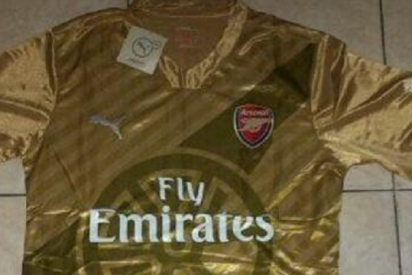 La revolucionaria camiseta del Arsenal