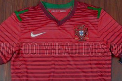 La camiseta de Portugal para el Mundial