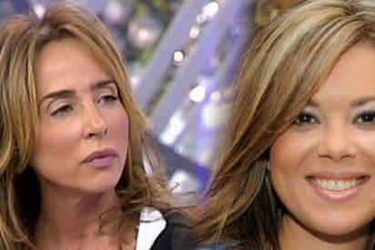 """Mª José Campanario humilla a una acobardada María Patiño: """"Tú eres más bajita que yo, me río de lo que dices"""""""