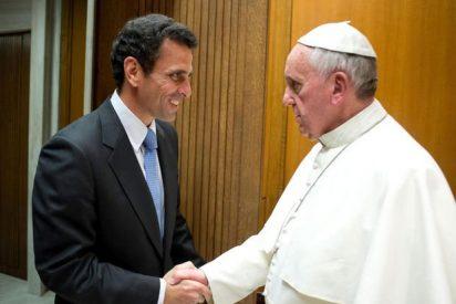 Capriles expone al Papa la situación de los presos en Venezuela