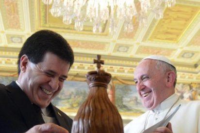 El papa, con a 3.000 peregrinos ucranianos en la celebración de San Josefat